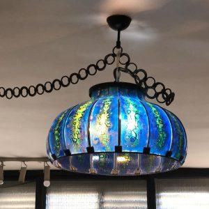 מנורה גוון כחול H02