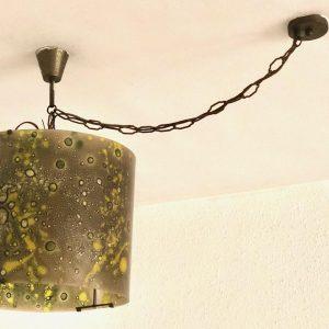 מנורה גוון ירוק H03