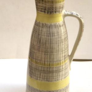 אגרטל גוונים שחור צהוב לבן M19