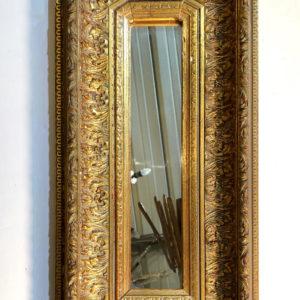 I05 מראה מלבן זהב