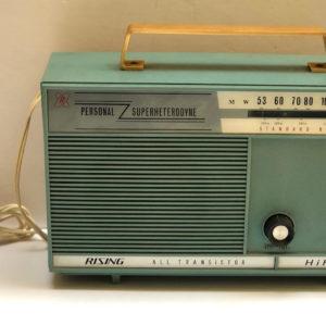 J47 רדיו וינטאג' תכלת