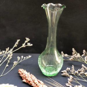 K62 אגרטל זכוכית ירוק