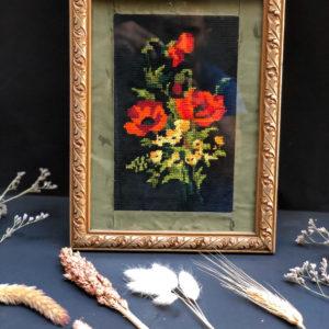 X3 תמונה גובלן פרח