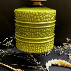 H33 מנורה וינטאג' ירוקה