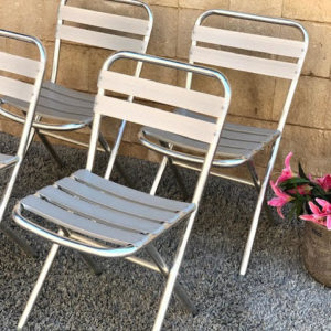 D19 כיסאות אלומיניום