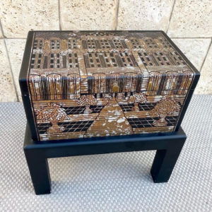 קופסא/תיבה עץ