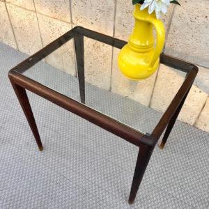 A40 שולחן עץ זכוכית