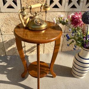 A44 מעמד שולחן עץ