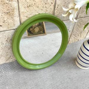 L11 מראה וינטאג' ירוק מדליק