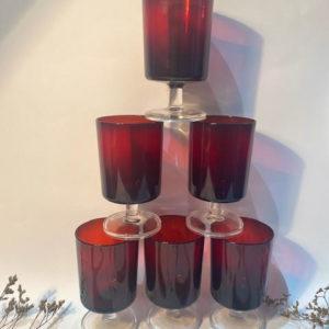 K67 כוסות זכוכית קריסטל